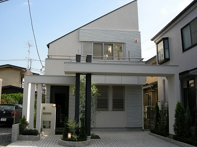 【新築戸建】「永福町」の邸(外観写真)