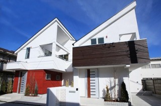 【新築戸建】「白鷺」の邸(外観写真)